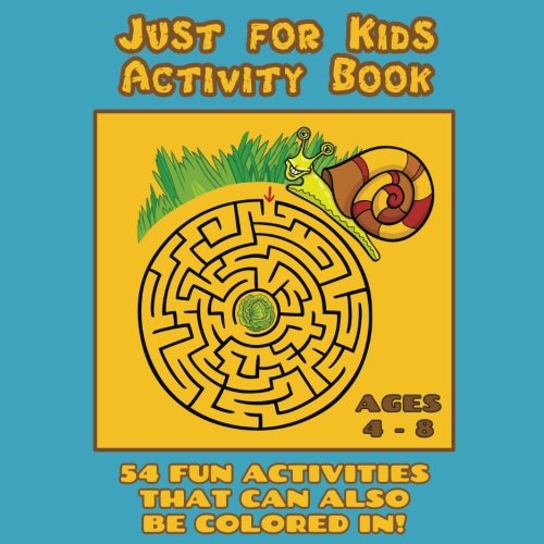 Just for Kids Activity Book Ages 4 to 8: Travel Activity Boo