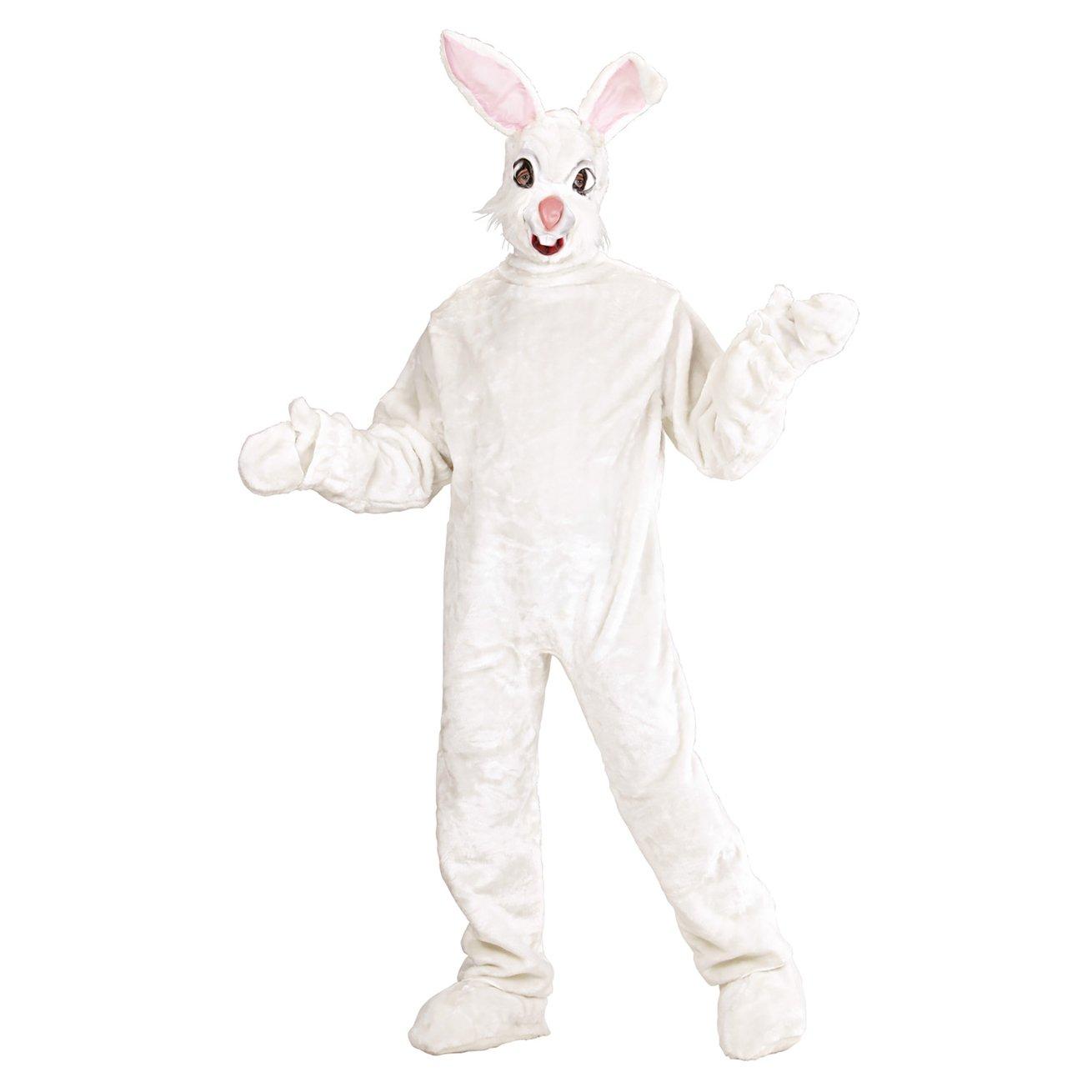 Amazon.com: Mens Plush Bunny Costume For Animal Jungle Farm Fancy Dress: Home Improvement