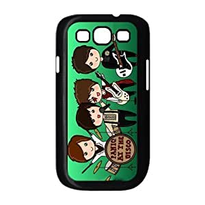 Panic! at the Disco Hardshell Plastic Cover Case for Samsung Galaxy S3 i9300 Designed by Windy City Accessories hjbrhga1544