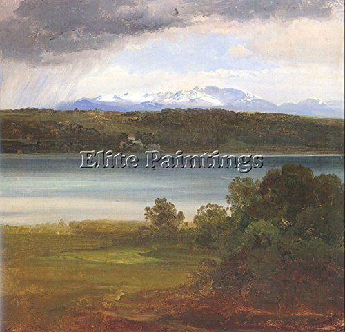 MORGENSTERN CHRISTIAN GERMAN 1867 ARTIST PAINTING OIL CANVAS REPRO WALL ART DECO 32x32inch MUSEUM QUALITY by Elite-Paintings