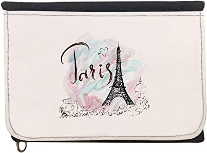 Romantic - Eiffel Tower Printed Case Wallet,  jeans