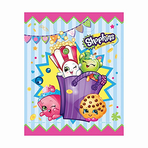 [Shopkins Goodie Bags, 8ct] (Sixties Costumes Ideas)