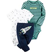 Carter's Baby Boys' Little Character Sets 126g593, Green, 3 Months