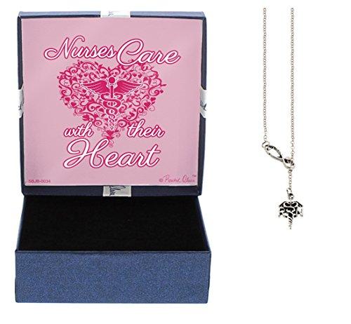 CNA Heart Necklace (Silver) - 6