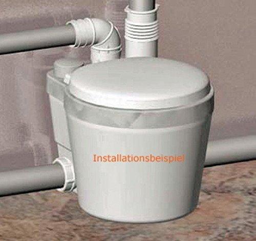 setma brauchwasser hebeanlage watersan 11 ohne wc bis 60 c energiesparendes apfs system fr dusche wasch und splmaschine amazonde baumarkt - Hebeanlage Dusche Keller