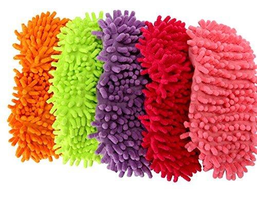 E Pink Dark Tergicristallo Shoe Fibra Di Clean Bravehope Staccabile Green Taglia Mocio In Scarpe Fine Cover Pantofole Unica 6wq5Ot1X
