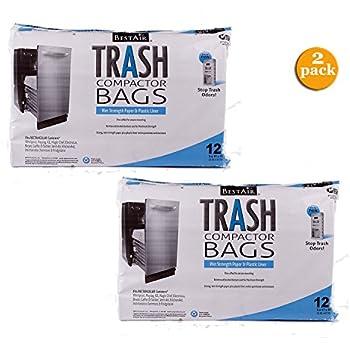 BestAir Trash Compactor Bags(16 D. X 9 W. X 17 H,
