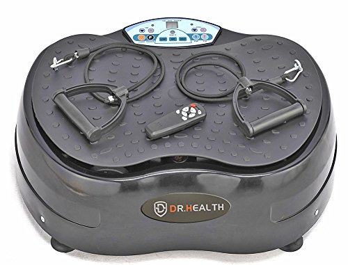D Dr. Health Full Body Vibration Balance trainning Plate #Mini Crazy fit Machine, Portable, 1000W