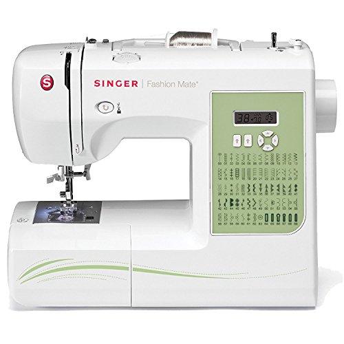 SINGER 7258 Stylist Award-Winning 100-Stitch Computerized Free-Arm Sewing Machine