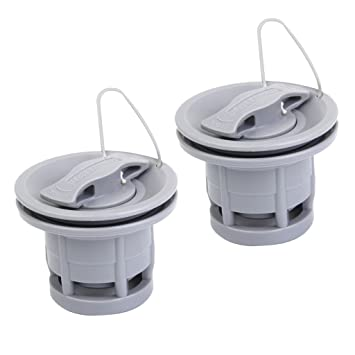 2x Replacement Air Valve For Inflatable Boat Tender Raft Dinghy Kayak Canoe