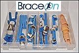 24 Piece Finger Splint Kit with Finger STAX 8 Piece Multi Pack