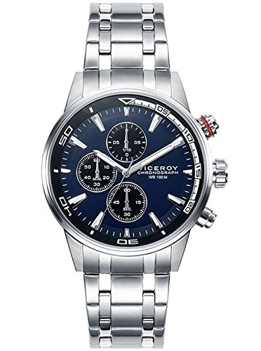Watch Viceroy 46685-37 Chronograph Steel Blue Man