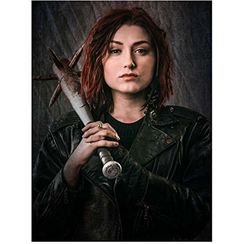 Z Nation (TV Series 2014 - ) 8 Inch x10 Inch Photo Anastasia Baranova w/Spiked Club Over Right Shoulder kn ()