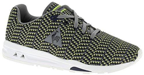 Le Coq Sportif LCS R950 Jacquard Schuhe Herren Sneaker Turnschuhe Grau 1521364 Gelb (Yellow Ffff00)