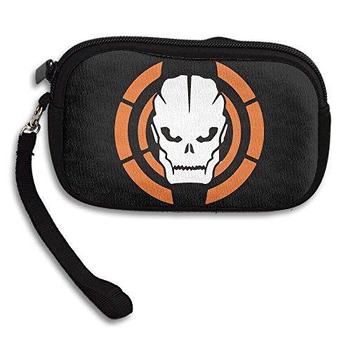 Price comparison product image Amurder Black Ops 3 Video Game Fashion Money Wallet Pouch Bag Black