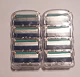 fusion blades generic - Gillette Fusion5 ProGlide Series Men's Razor Blades 8 5-Layer Blade Refills (Packaging May Vary)