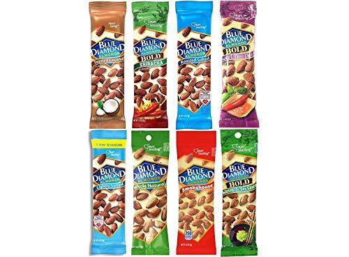 Blue Diamond Variety Almonds  Bundle, Pack of 8 ()