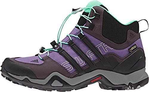Adidas all'aperto Terrex Swift R Mid Gtx? Super viola / nero / rosso minerale Sneaker 7 B (m)