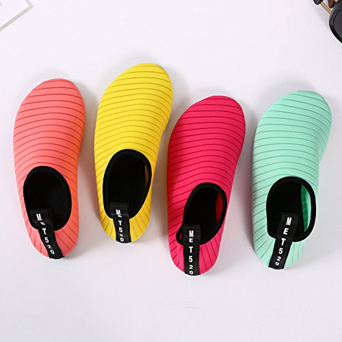 Senfi Waterschoenen Atletische Aqua Sok Voor Watersport Strand Zwembadboot Roze
