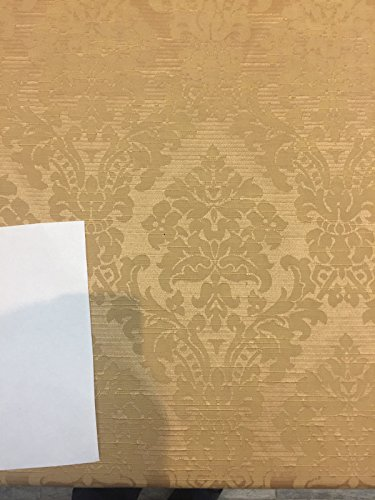 Fabricut Gold French Damask Brocade Drapery Upholstery Fabric By the yard 58