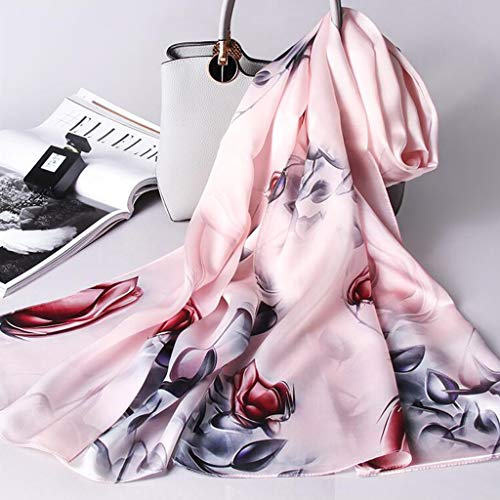 Invernale colore Liang Di B Madre Autunnale 100 Accessori E Donna Seta Femminile Abbigliamento Sciarpa A Inverno nWCO14q0W
