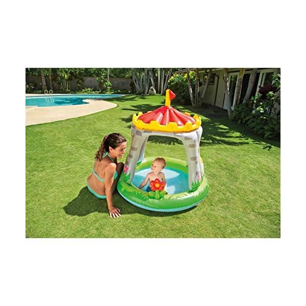 Intex 57122 Royal Baby Castello- Piscina per Bambini 1-3 anni, Multicolore, 122 x 122 cm 3 spesavip