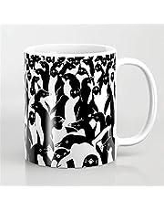 Pinguïns koffiemok, pinguïn mok, dieren geschenk, dieren mokken, koffie geschenk, grappige geschenken, pinguïn cadeau