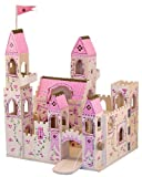 Melissa and Doug Deluxe Wooden Folding Princess Castle, Baby & Kids Zone