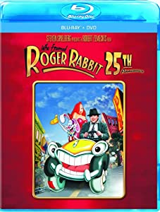 Cover Image for 'Who Framed Roger Rabbit: 25th Anniversary Edition (Two-Disc Blu-ray/DVD Combo in Blu-ray Packaging)'