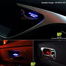 BRICX 7Color LED Inside Interior Door Catch Plate 4P for Kia Optima / K5 2011-2013