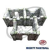 MP Paintball Air Bunker - wall panel combination - 3 BOX shape, 3I3F2H2G (MP-SB-WP03)