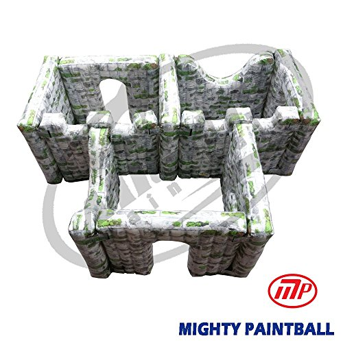 MP Paintball Air Bunker - wall panel combination - 3 BOX shape, 3I3F2H2G (MP-SB-WP03) by MP - Mighty Products