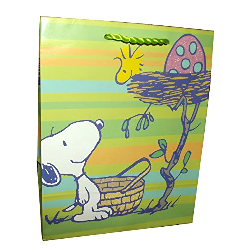 Easter Snoopy Small Gift Bag- 1 piece