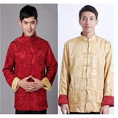 Les Arts Tang Chemises Hommes Martiaux 01 Chinois Longues Fu Manches Deux Style Kindoyo Femmes Côtés Veste Manteau Kung Costume Manteaux xqwYOORC