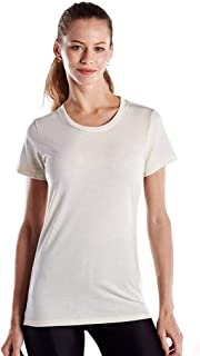 product image for US Blanks Ladies' 4.3 Oz. Short-Sleeve Crewneck M Cream