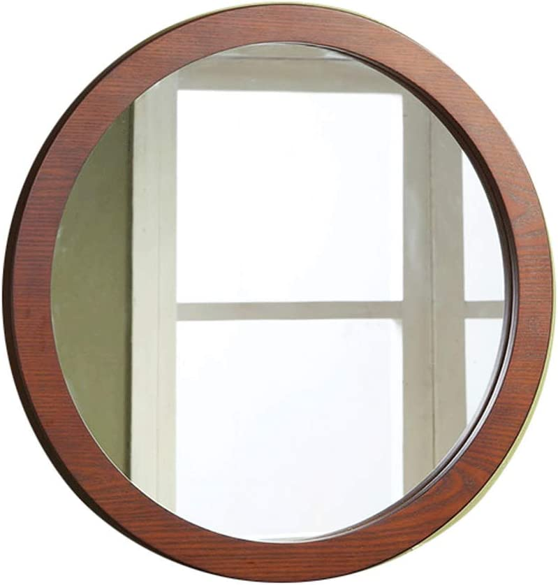 Amazon Com Wwshm Hanging Wall Mirror Vanity Mirror With Natural Wood Frame Rustic Farmhouse Decor For The Living Room Bathroom Bedroom And Entryway Home Kitchen