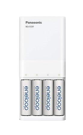 Panasonic Eneloop - Cargador rápido USB Cargador rápido USB con 4 ...