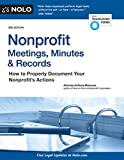 #1: Nonprofit Meetings, Minutes & Records: How to Properly Document Your Nonprofit's Actions
