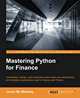 Mastering Python for Finance Front Cover