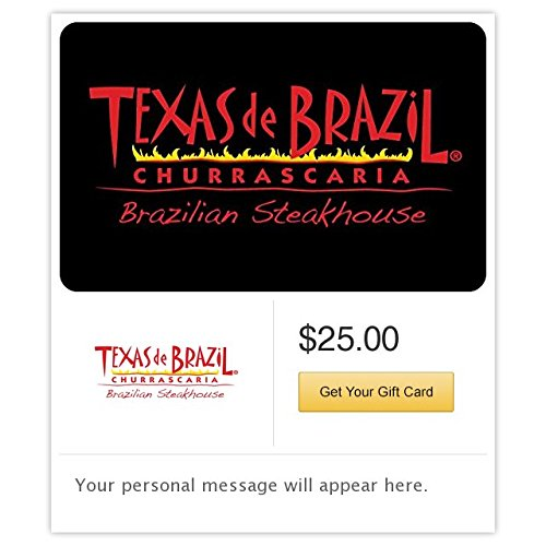 Texas De Brazil Gift Cards   E Mail Delivery