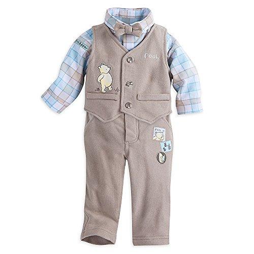 Disney Winnie The Pooh Layette Fancy Set for Baby Size 0-3 - Layette Baby Fancy