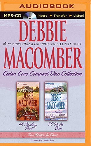 Debbie Macomber Cedar Cove CD Collection 2: 44 Cranberry Point, 50 Harbor Street - Book  of the Cedar Cove