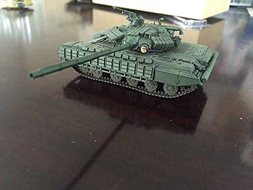 - T-64BV Main Battle Tank Soviet Army 1985 (Assembled from approximately 200 plastic parts) (1:72); AS72029