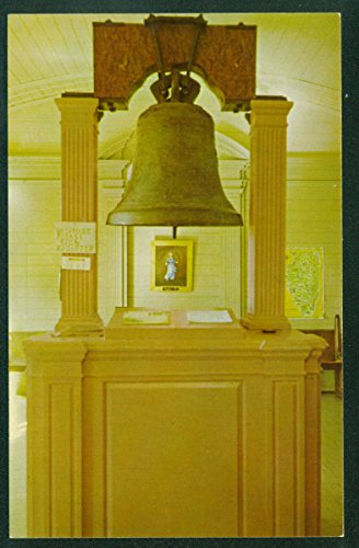 Bell Illinois (Liberty Bell of the West Kaskaskie State Memorial Island Illinois IL Vintage Postcard)