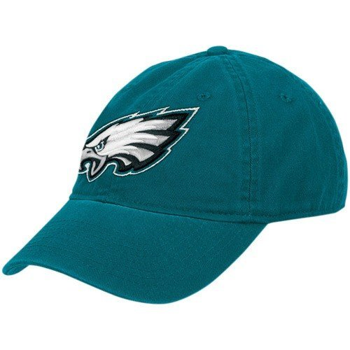 (Philadelphia Eagles Women's Adjustable Slouch Strapback Hat)