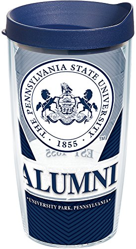 - Tervis 1223978 Penn State Nittany Lions Alumni Tumbler with Wrap and Navy Lid, 16 oz - Tritan, Clear