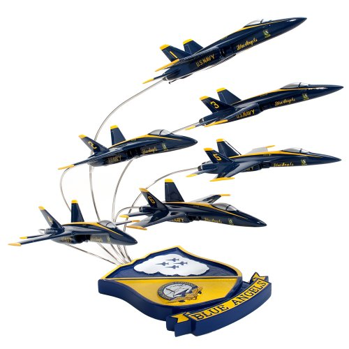 (F/A-18 Blue Angels in)