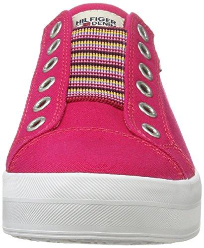 Tommy Hilfiger N1385ice 2d2, Zapatillas para Mujer Rosa (Virtual Pink 615)