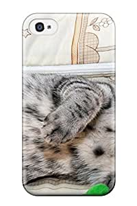 Allisassidy MvqwaOb1523SlBZp Case For Iphone 4/4s With Nice Laughing Cat Appearance