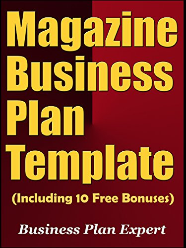 Amazoncom Magazine Business Plan Template Including Free - Magazine business plan template